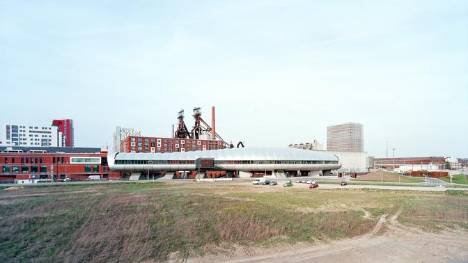 Belval Panorama Bahnhof