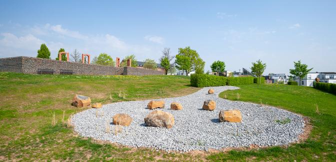 Steinlandschaft – Blick von Südwesten